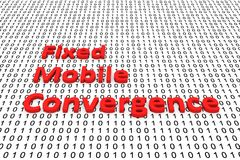 Fixed mobile convergence Royalty Free Stock Images