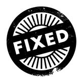 Fixed stamp rubber grunge Stock Images