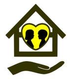 Fixez à la maison pour des enfants Image libre de droits