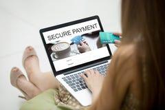 Fixez le concept de paiements Photos stock