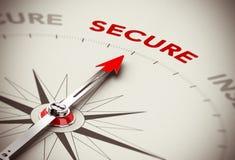 Fixez le concept - sécurité Image libre de droits