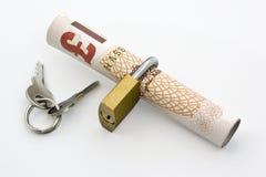 Fixez le paiement Image libre de droits