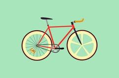 Fixie自行车 免版税库存照片