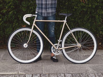 Fixie bike Stock Photography