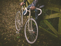 Fixie bike Stock Photo
