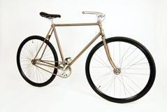 Fixie bike. Single speed fixie custom made bike Stock Photos