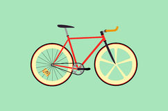 Fixie cykel royaltyfri foto