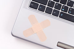 Fixing Computer Problems Stock Image