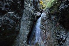 Via Ferrata HZS Kysel, Slovensky raj, Slovakia stock image