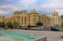 Fizuli kwadrat w Baku zdjęcia stock