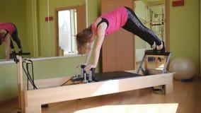 Fizyczna terapia ciało Pracowniany wyposażenie Pilates zdjęcie wideo
