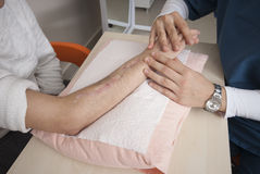 Fizyczna terapia Zdjęcia Royalty Free