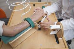 Fizyczna terapia Obrazy Royalty Free