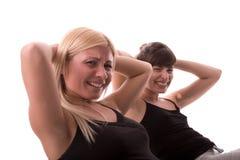 fizyczne fitness dziewczyny Obraz Royalty Free