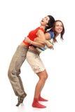 fizyczne fitness kobiety Zdjęcia Royalty Free