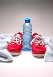 fizyczne fitness rzeczy Fotografia Royalty Free