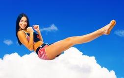 fizycznej fitness niebo Zdjęcia Stock