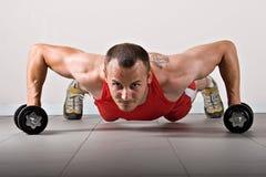 fizycznej fitness szkolenia obraz stock