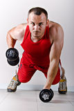 fizycznej fitness szkolenia Obrazy Royalty Free