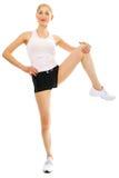 fizycznej młodych kobiet fitness zdjęcie stock