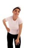 fizycznej młodych kobiet fitness Obrazy Stock