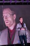 Fizyk Andrei Zayakin, twórca projekt fotografia royalty free