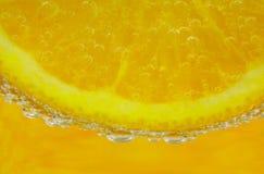 Fizz arancione 2 Fotografia Stock Libera da Diritti