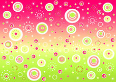 Fizzy background Stock Images
