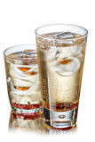 Fizzy cocktail. Cold, refreshing summer fizzy cocktail Royalty Free Stock Image