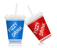 Fizzy drink. Stock Image
