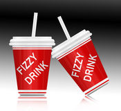Fizzy drink. Stock Images