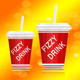 Fizzy drink. Stock Photography