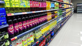 Fizzy drinks for sale Stock Photos