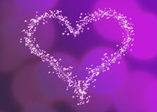 Fizzy Heart Royalty Free Stock Image