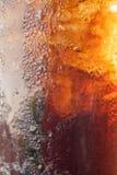 Fizzy kola w szkle Fotografia Royalty Free