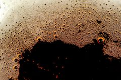 Fizzy Soft Drink with Bubbles Royalty Free Stock Images