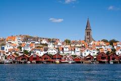Fjällbacka - Швеция стоковые фотографии rf