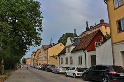 Fjällgatan w Sztokholm Obrazy Royalty Free
