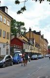 Fjällgatan w Sztokholm Fotografia Royalty Free