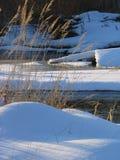 fjäder för 2 flod Arkivbild