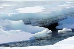 fjäder för alaska upplösningsflod Royaltyfri Bild