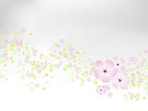 fjäder för lampa för bakgrundsdesignblomma Royaltyfri Foto
