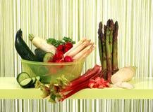 Fjädergrönsak Arkivbild