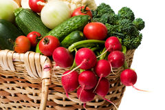 fjädergrönsaker Arkivbilder