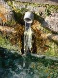 fjädersulphurvatten royaltyfria foton