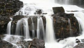 fjädervattenfall Royaltyfria Foton