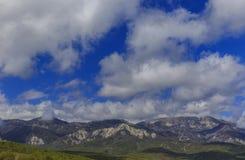 Fjädra i bergen Royaltyfri Fotografi