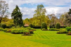 Fjädra i den Kew botaniska trädgården, London, UK royaltyfria bilder