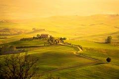 Fjädra i Tuscanyen Royaltyfri Bild