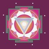 Fjädra yantraen för vård- Fotografering för Bildbyråer
